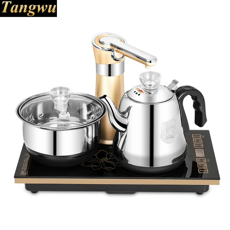 automatic water kettle electric kettle set water kettles the water heater free shipping automatic water pumping electric kettle heater tea electric kettles