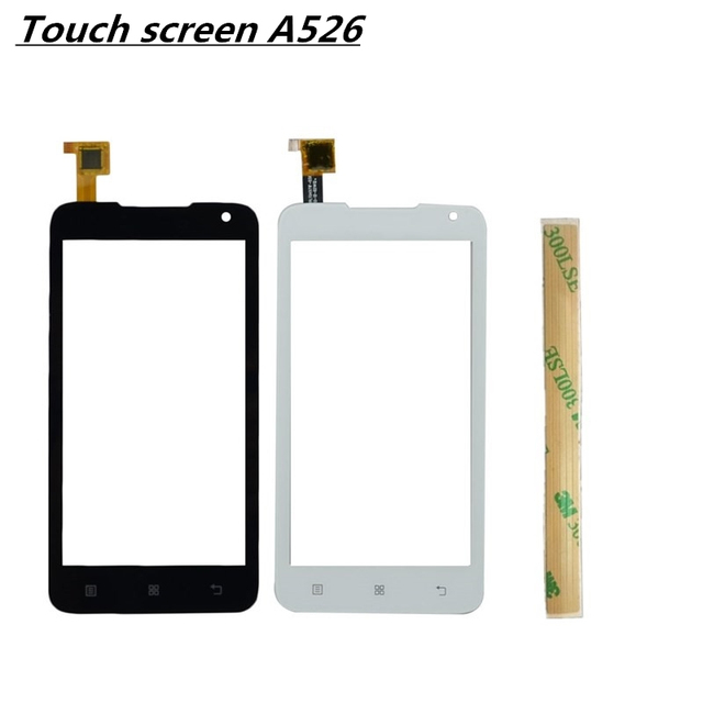 "4.5"" For Lenovo A526 526 Touch Screen Panel Digitizer Front Glass Lens Sensor Touchscreen"