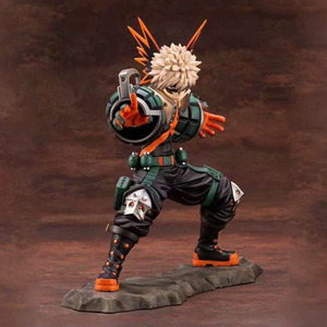 Image 2 - My Hero Academia Bakugou Katsuki Action Figure 1/8 รูป Two Face การต่อสู้ Ver. Bakugou Katsuki PVC ของเล่นรูป