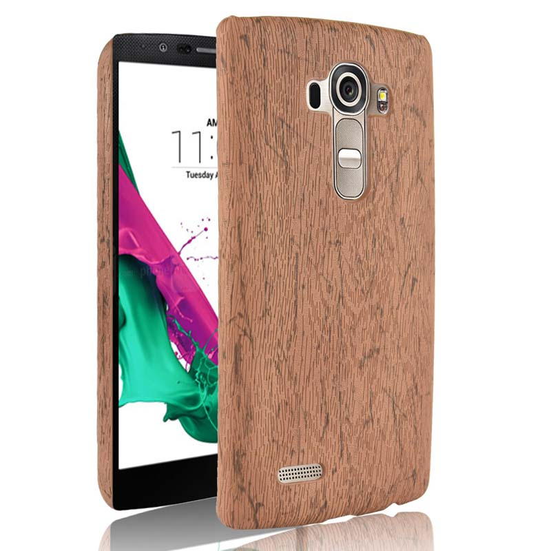 best sneakers abd9d 39a2d US $2.8 28% OFF Luxury Case For LG G4 H815 H818 lgg4 Case Wood Grain Back  Cover for LG G4 G 4 Phone Case Shell Housing for LG G4 Lgg4 Bag-in Fitted  ...