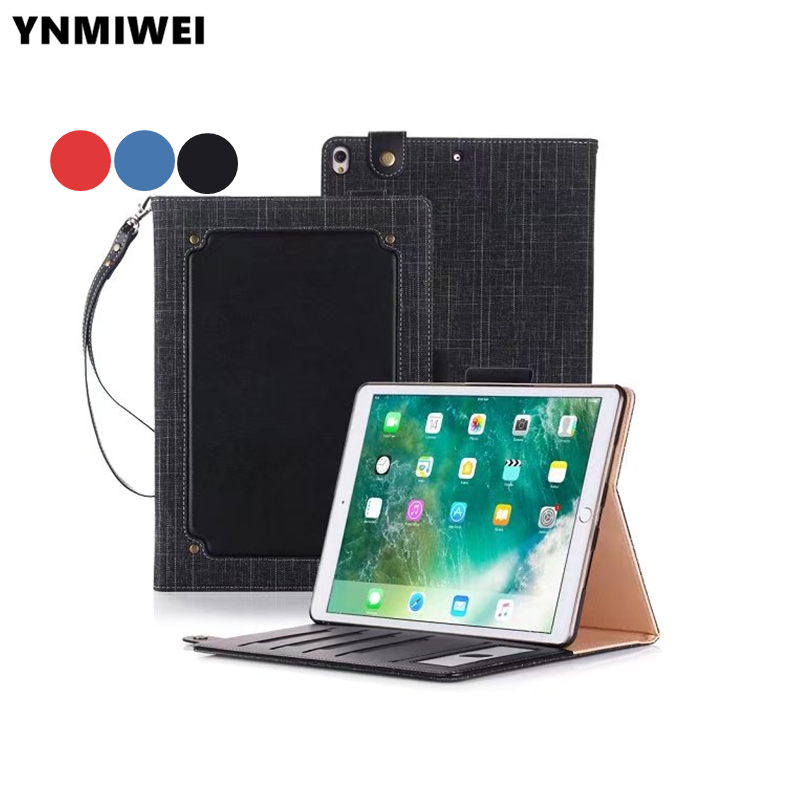 For iPad Pro 10.5 Wallet Leather Case Magnet Book Case For iPad Pro 10.5 2017 Stand Cover Case A1701 A1709 +Film+stylus pen hot ultra thin leather smart stand case for ipad pro 10 5 auto transformers cover for new ipad pro 10 5 a1701 a1709 film stylus