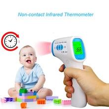 Семья Детские medidor de фебре Бесконтактный инфракрасный термометр для измерения температуры градусы Фаренгейта и шкале Цельсия режим объект контроля температуры