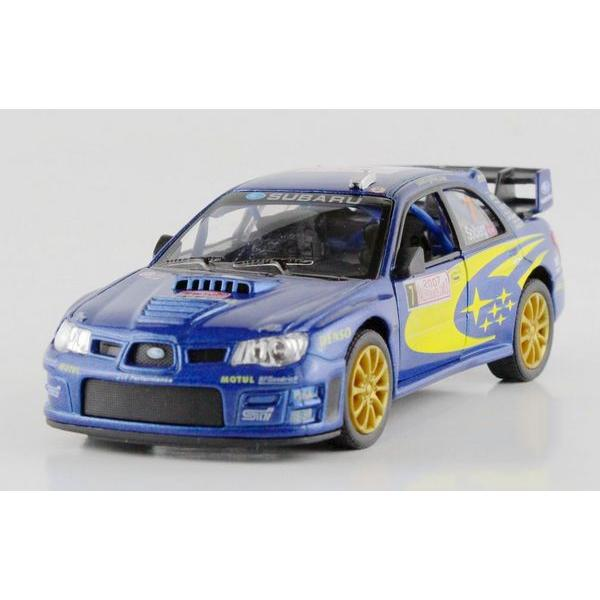 children kids kinsmart subaru impreza wrc 2007 model car 136 kt5328 5inch diecast metal