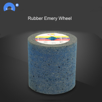 wire drawing sander drum Rubber emery wheel abrasive tool