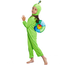 Cute Snails Costume Cosplay For Kids Animal Children Halloween Carnival Party Dress Up Suit