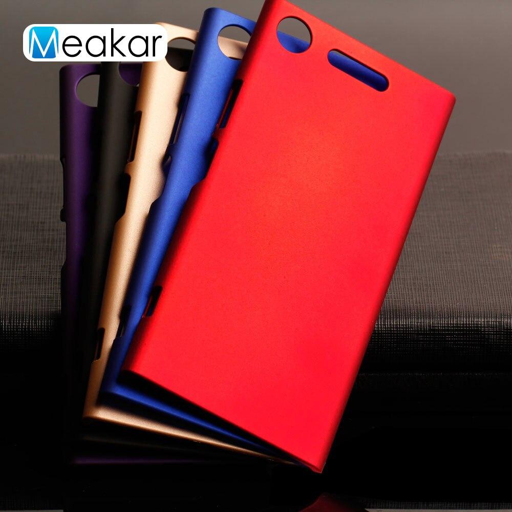 Plastic Coque Cover 5.2For Sony Xperia Xz1 Case For Sony Xperia Xz1 Xz 1 Dual G8342 G8341 G8343 Phone Back Coque Cover Case