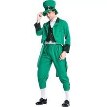 d0f8c3f00 Adulto de la familia irlandesa grupo traje de duende hijo del día de St  Patrick Elf