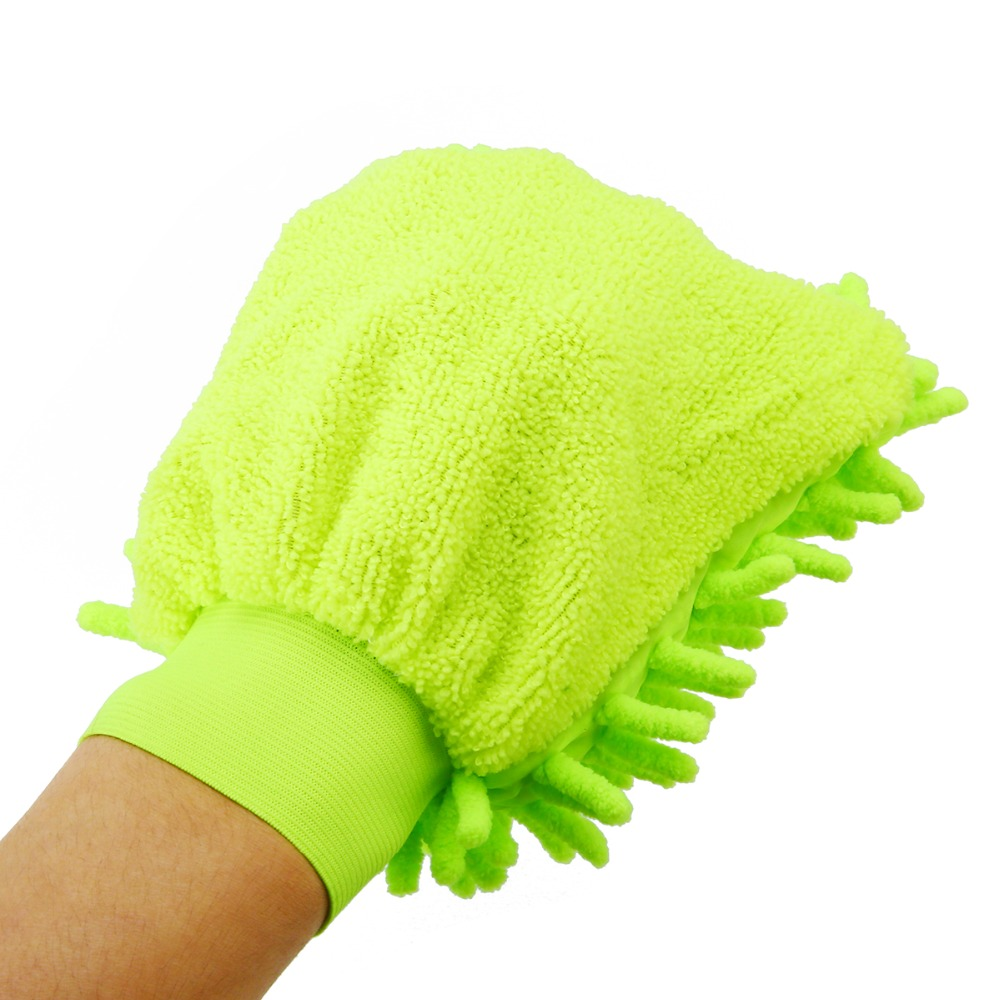 Household Supplies & Cleaning Car Microfiber Soft Plush Wool Wash Cleaning Towel Duster Mitt Glove Brush Tool Home & Garden