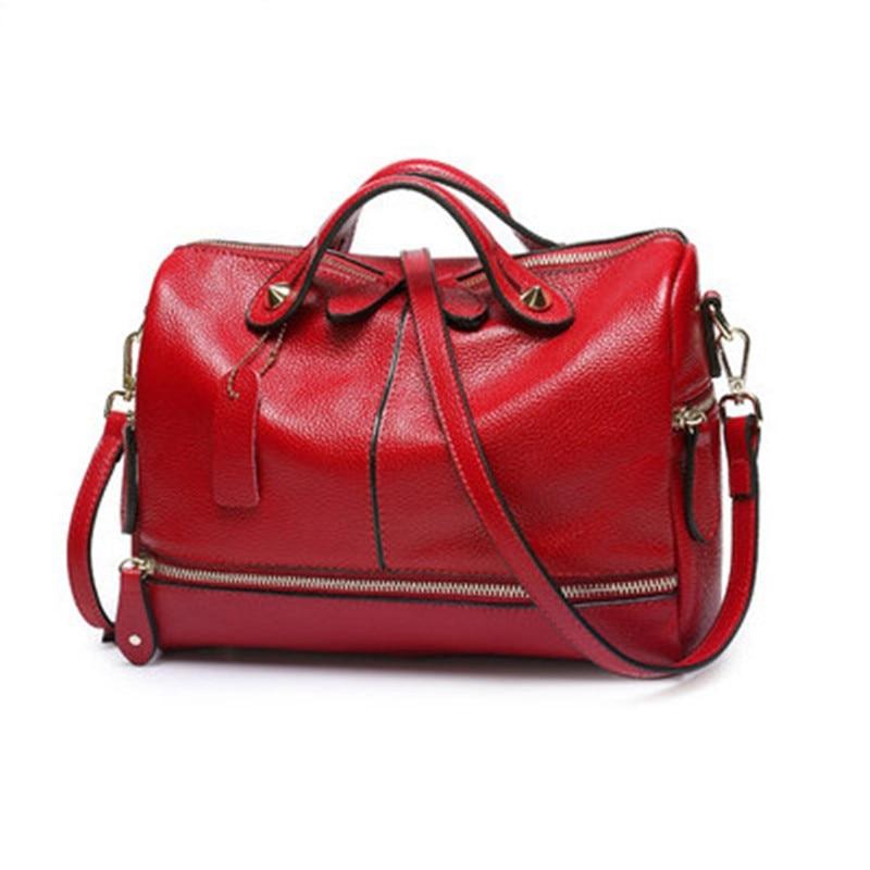 Modes sieviešu soma, mīksta ādas spilvens Sieviešu rokassomas, - Rokassomas
