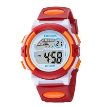 Lovely Kids Watches Cute Children Watch Cartoon rubber Digital Wristwatch For Boys Girls Wrist Relogio