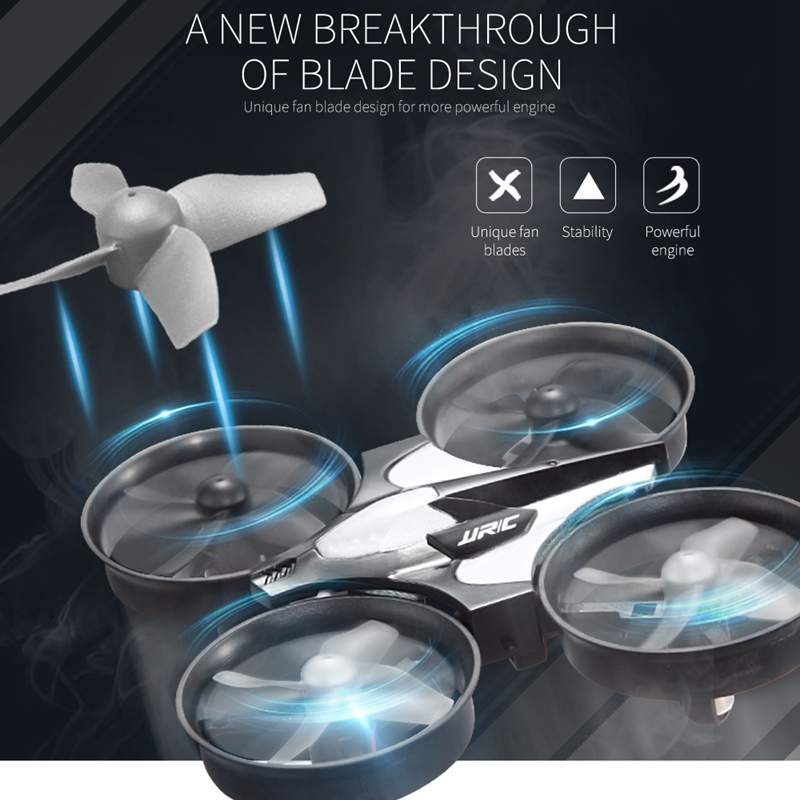 3 Batteries Mini Drone Rc Quadcopter Fly Helicopter Blade Inductrix Drons Quadrocopter Toys For Children Jjrc H36 Dron Copter 3
