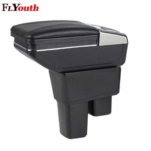 Car Armrest Box Car Styling Central Store Content Box Cup Holder Interior Auto Accessories For Honda Fit Jazz 2008-2013 1Pc