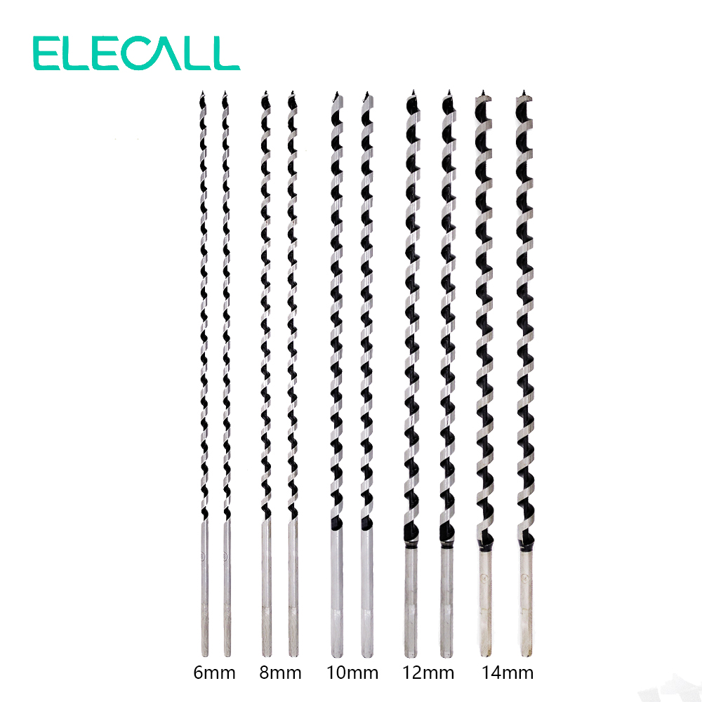 ФОТО New 10pcs/set Quality Carbon Steel Sharp Twist Drill Auger Bit For Electrical Drill Woodworking Tool 6/8/10/12/14mm
