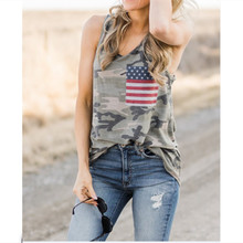 american flag tank tops independence day womens clothing streetwear sexy top street style cotton polyester casual print american flag open back tank top