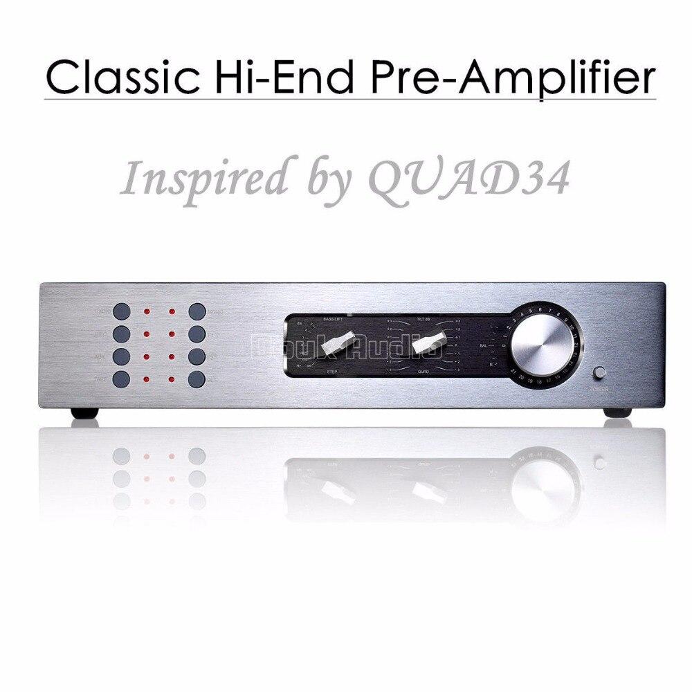 2017 nouveau Nobsound haut de gamme préamplificateur stéréo préamplificateur HiFi pré-ampli Audio inspiré par QUAD34