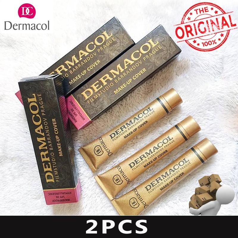 Dermacol Makeup Cover Authentic 100 30g Primer Concealer Base Professional Face Dermacol Makeup Foundation Contour Palette