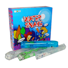 Novelty toys for children to catch snakes tricky catch green transparent funny toys