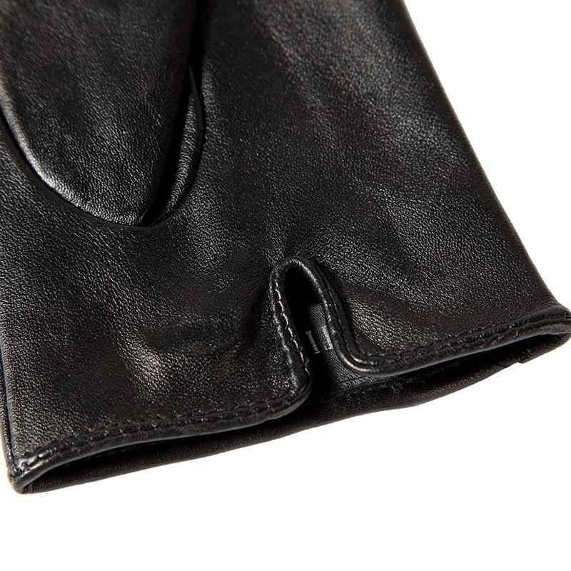 Shop zu kaufen beste Weibliche handschuhe, Echtes Leder, Erwachsene, Baumwolle Gefüttert, stilvolle schwarze leder handschuhe farbe bar, Leder handschuhe