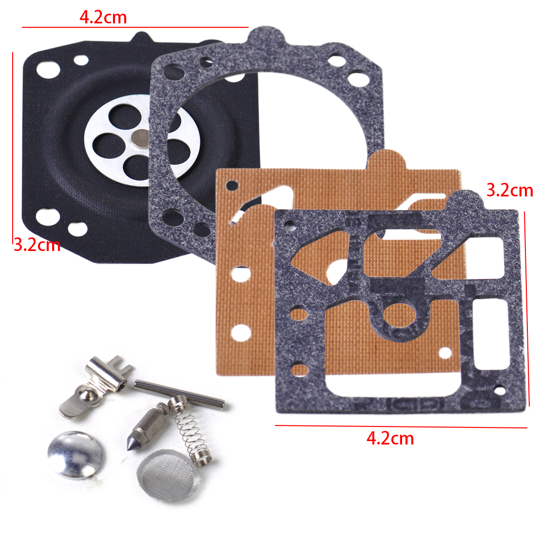 LETAOSK High Quality Carburetor Carb Repair Replace Diaphragm Gasket Kit For Walbro K10-HD STIHL 027 029 039 MS270 MS290 MS390