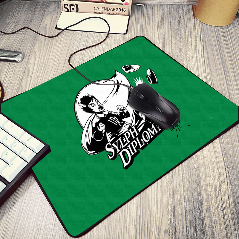Mairuige Creative Diy Anime Cool Cartoon Homestuck Symbol Pattern Mousepad Rubber Small Size Mini Pc Computer Gaming Mouse Pad