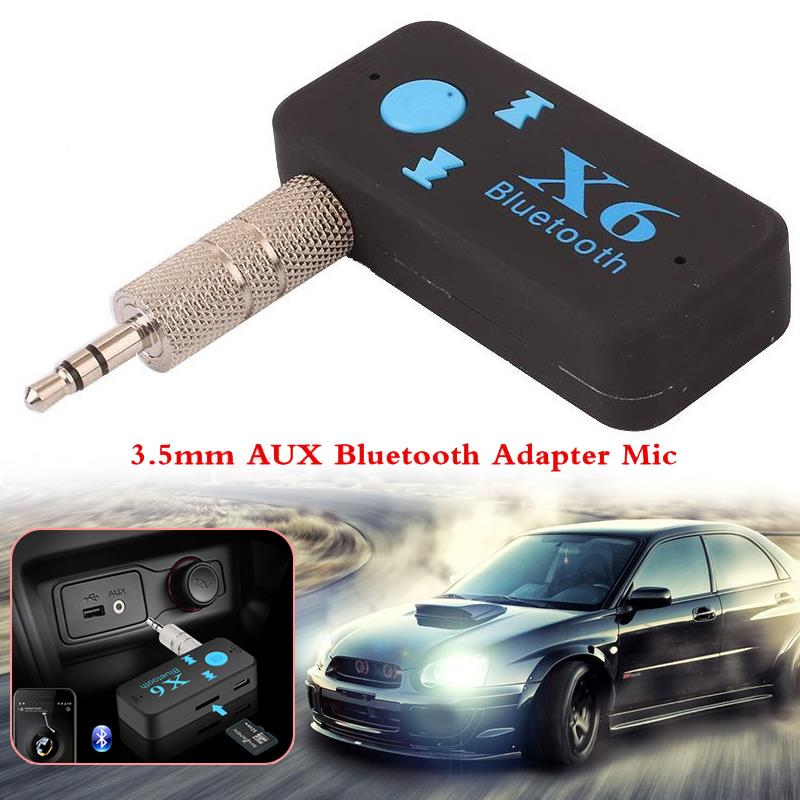 3 5mm Car Usb Wireless Bluetooth Music Receiver Adapter Auto Aux Streaming A2dp Kit For Speaker: VEHEMO 3.5mm USB Wireless Car Bluetooth Audio Music Receiver Adapter Auto AUX For Speaker