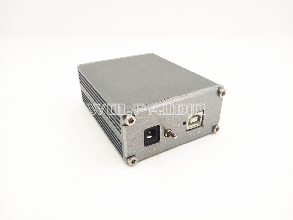 Finished CM6631A 24bit / 192khz Asynchronous USB Coaxial + Optical SPDIF DAC Decoder Upgraded Version Gray And Black