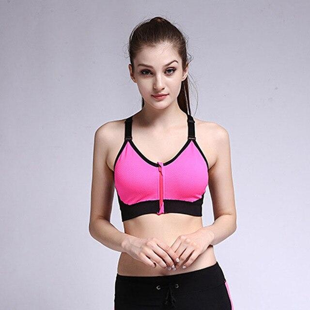 Women Fitness Bra Workout Sporting Tops Gymming Runs Push Up Yogaing Clothing Girl Sleep Exercise Vest Underwear Shirts Tank