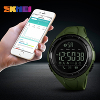 zk20 SKMEI Men Fashion Smart Watch Waterproof Pedometer Smartwatches Calorie Bluetooth Watch Relogio Masculino for ios android