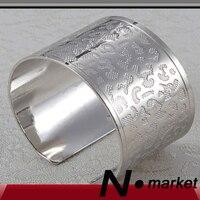 Оптовая продажа серебряный леопард линии открытым Стиль кольцо для салфеток Круглый Китайский Древняя печать держатели для салфеток свадь