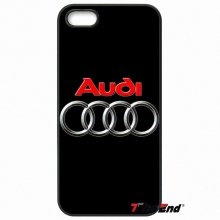 For iPhone 4 4S 5 5C SE 6 6S 7 Plus Samsung Galaxy Grand Core Prime Alpha Fashion Audi Car RS Logo Mobile Phone Case Cover