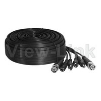 Power Cable and Video Cable and Audio Cable for Camera System BNC Connector and RCA Connector and DC Connect for Analog Camera