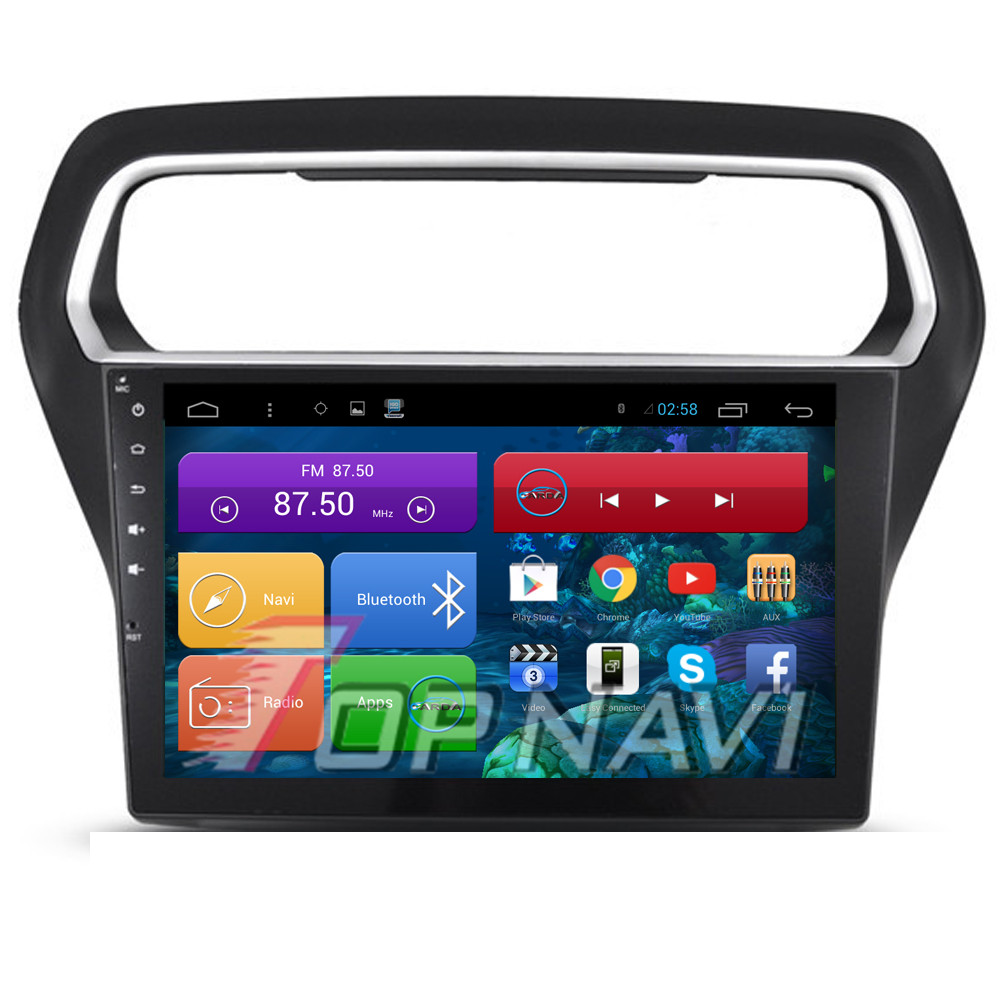 Professional Free Shipping Quad Core Android 4.4 Car Radio for Escort With 16GB Flash Mirror Link Wifi Bluetooth GPS Free Map