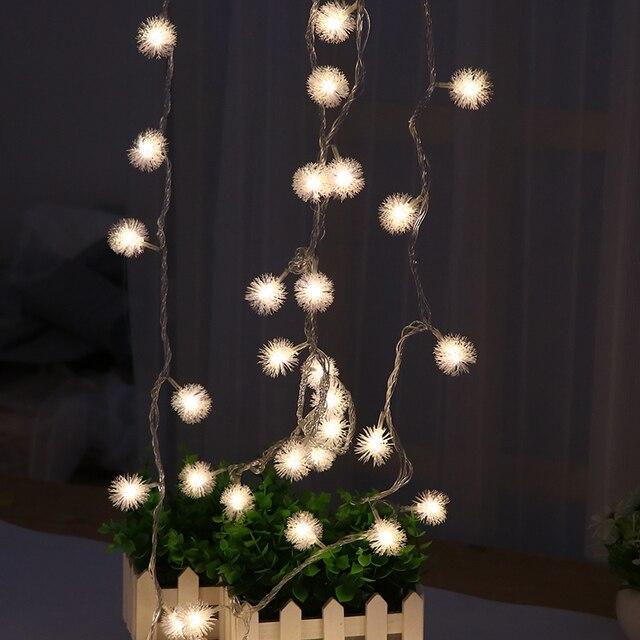 nuevo 5m led luces hada luces navidad guirnaldas luces bola luces con cuerdas iluminacin ao nuevo - Guirnaldas De Luces