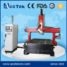 China wholesale good efficient wood carving cnc machine lathe machinery with auto tool changer
