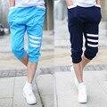 Pantalones hombre мужские Сплошной Цвет Удобные Короткие Штаны Обрезанные Брюки Брюки Случайные мужские брюки pantalon homme
