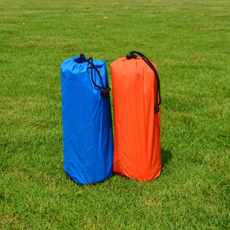 Надувной коврик с Подушка с наполнителем Air влагостойкая подушка сумка туристический коврик пляжный матрац Ленивый Кровать