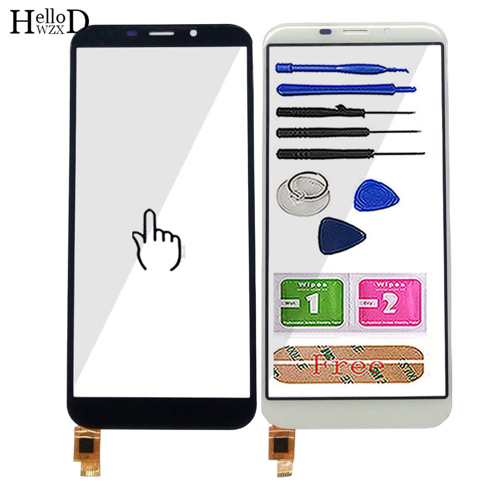 5.5'' Mobile Touch Screen Panel For Jinga Joy Pro Touch Screen Digitizer Sensor TouchScreen Front Glass Phone Tools 3M Glue