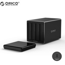 ORICO NS400C3 4 Bay Type-C Hard Drive Dock Support 40TB storage USB3.1 5Gbps UASP with 12V6.5A Adapter Tool Free HDD Enclosure