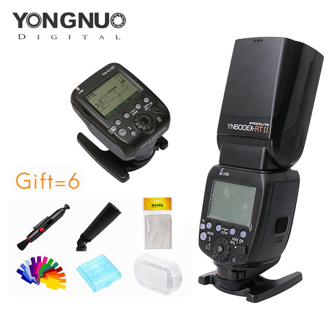 Yongnuo YN600EXRT II Speedlite YN E3 RT Speedlite Transmitter Kit High speed Sync 1 8000s 2