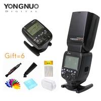 Yongnuo YN600EXRT II Speedlite + YN E3 RT Speedlite Transmitter Kit High speed Sync 1/8000s 2.4G wireless for canon camera