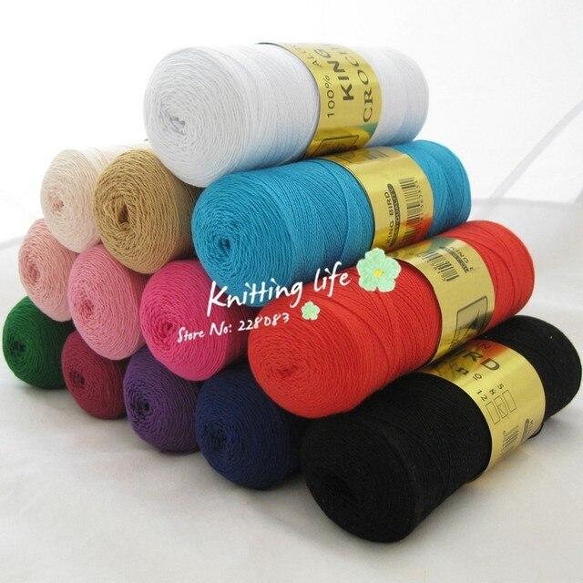 Tienda Online Alta calidad 8 # del cordón del algodón hilo de ...
