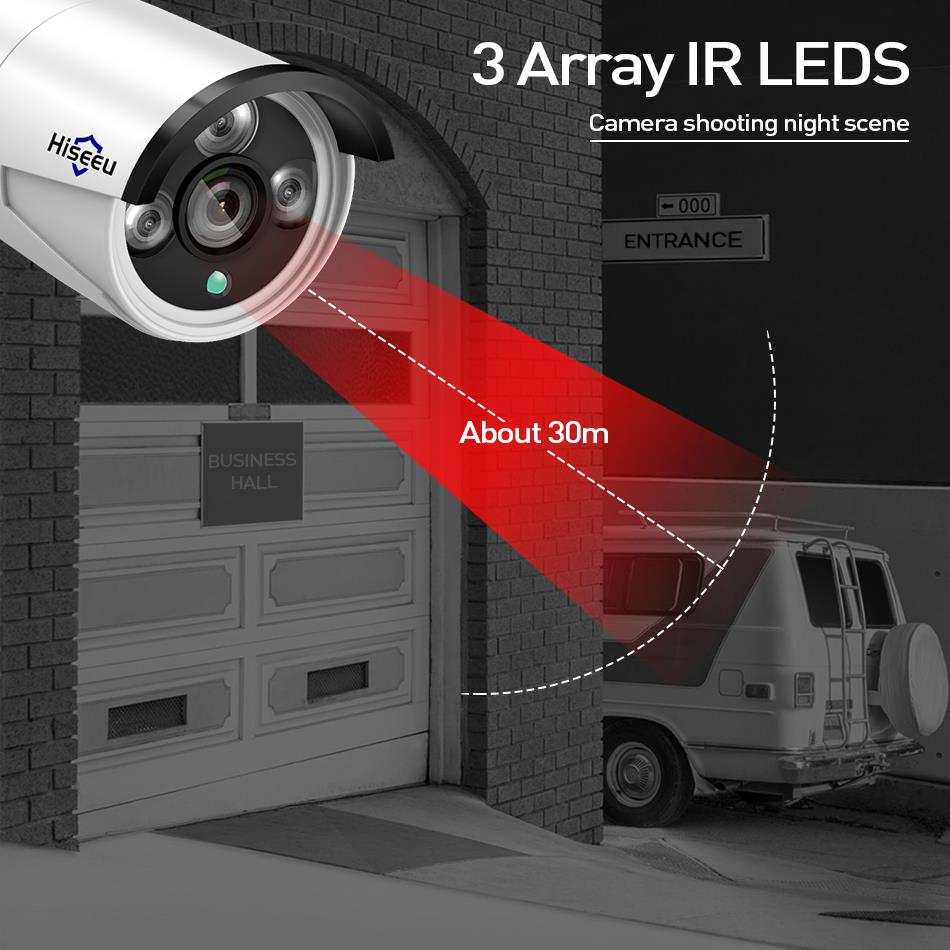 Hiseeu 8CH Wireless CCTV Security System 15