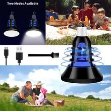 USB Plug Led Mosquito Killer Lamp E27 220V Insect Trap Light Bulb 110V Photocatalyst Anti Garden 5V Bug Zapper