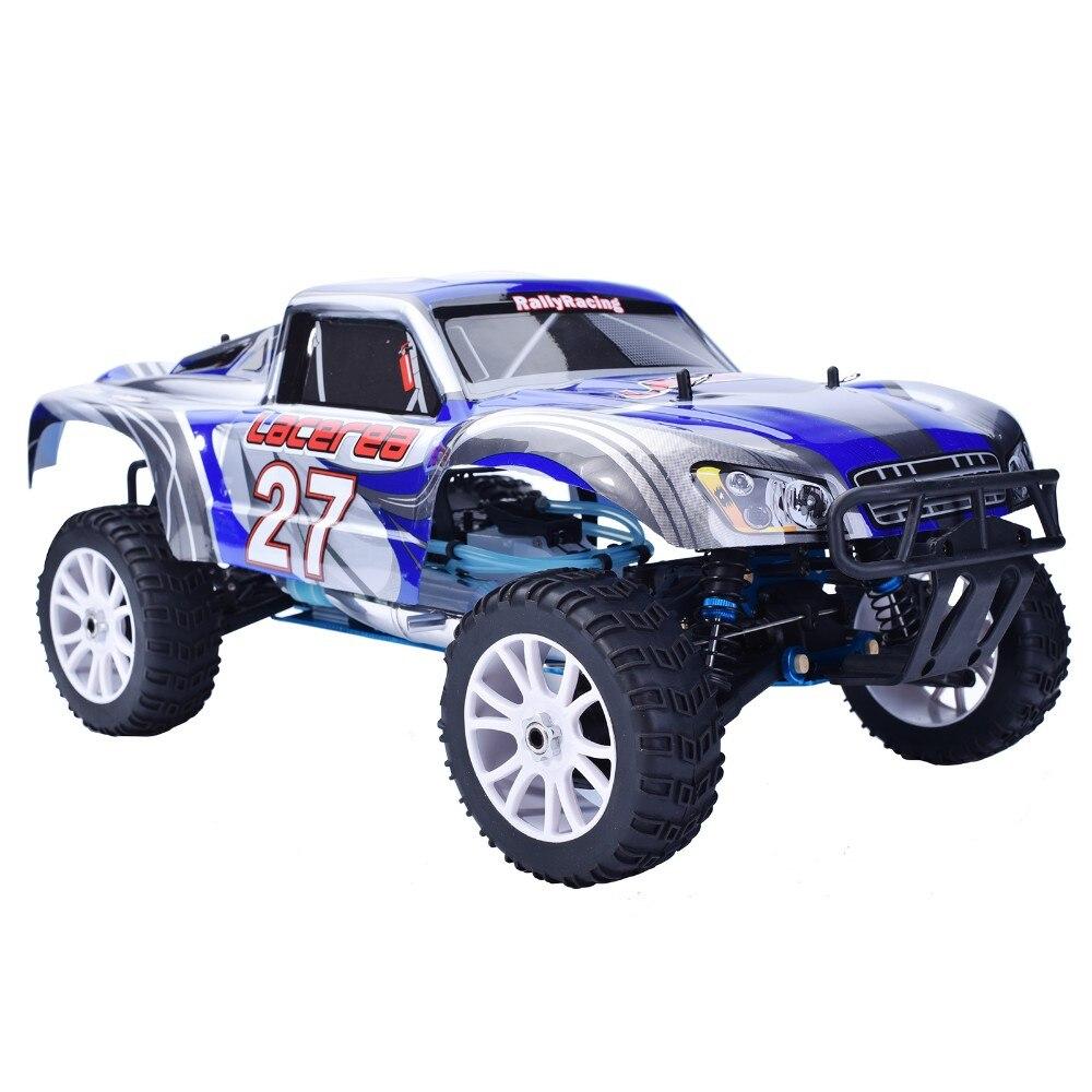 HSP 94863 Rc Voiture 1/8 Nitro Puissance De Voiture 4wd Off Road rallye Short Course Truck RTR Similaire REDCAT HIMOTO Racing voiture P2
