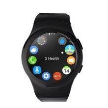 No. 1 G3 MTK2502 Pulsmesser Smartwatch Telefon Bluetooth 4,0 vollständige kreisförmigen Fitness Tracker SIM GPRS für iPhone & Android