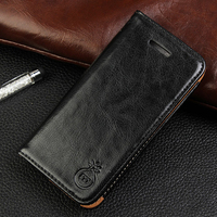 Luxury Coque Flip Cover For Apple IPhone 6 Case Genuine Real Leather Wallet High Quality Original