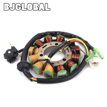 Motorcycle Magneto Stator Coil Generator For Yamaha BANSHEE 350 YFZ350 3GG-85510-00 1995-2006 Moped Ignition Coils Scooter Motor
