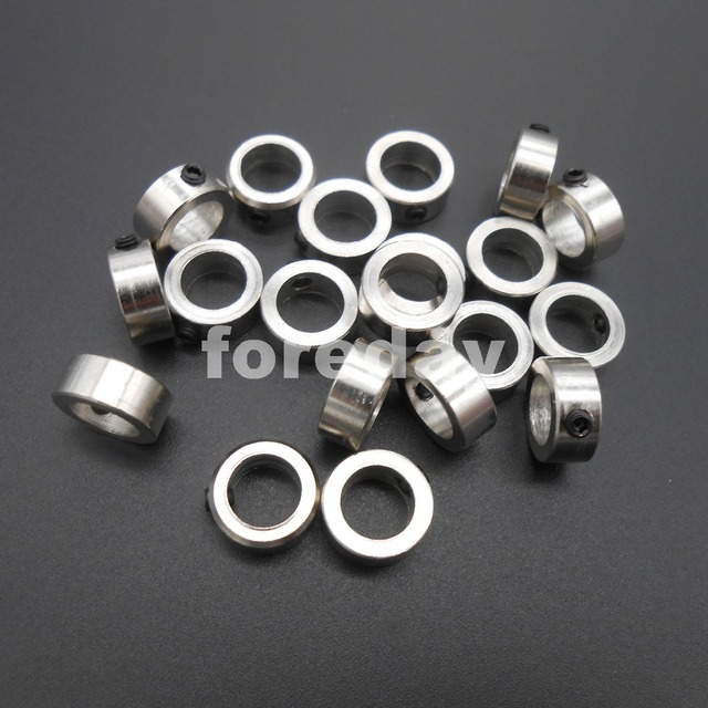 NEW 20PCS  DIY 8MM  metal Bushing axle sleeve 2.3 g Weight Stainless steel shaft sleeve specifications !!! *FD070X2