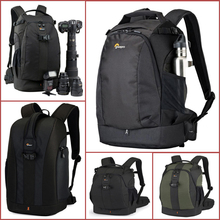 Genuine Lowepro Flipside Series 300AW 400AW 400 II AW 500AW Digital SLR Camera Photo Bag Backpacks+ ALL Weather Cover for Nikon