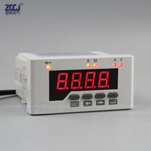 Hote sale DC 0-50A,DC 0-600V DC voltage and ampere meter with current shunt 96*48mm DC volt & ampere instrument digital voltage current power energy meter voltmeter ammeter volt ampere dc 6 5 100v 50a with dc 50a 75mv shunt